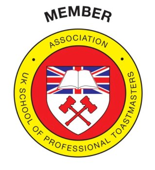 Edmond Wells Member of the Association of th UK School of Professional Toastmasters